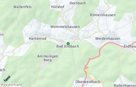 Stadtplan Bad Endbach