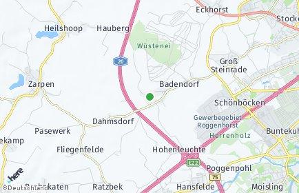 Stadtplan Badendorf