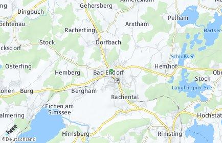 Stadtplan Bad Endorf