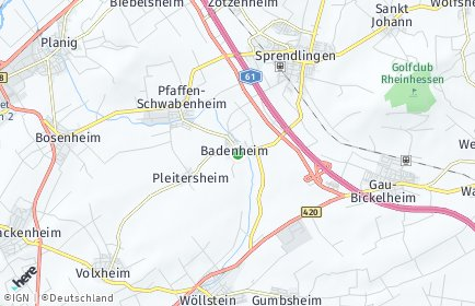 Stadtplan Badenheim
