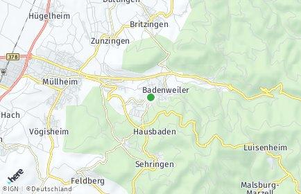 Stadtplan Badenweiler
