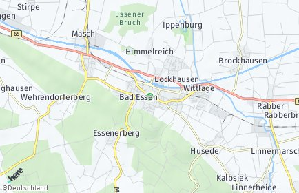 Stadtplan Bad Essen