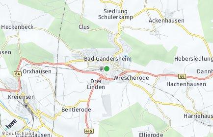 Stadtplan Bad Gandersheim