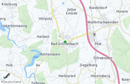 Stadtplan Bad Grönenbach