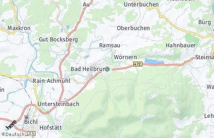 Stadtplan Bad Heilbrunn