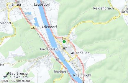 Stadtplan Bad Hönningen