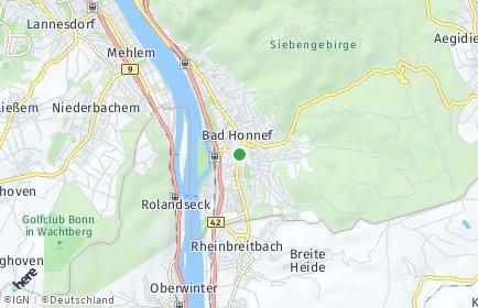 Stadtplan Bad Honnef