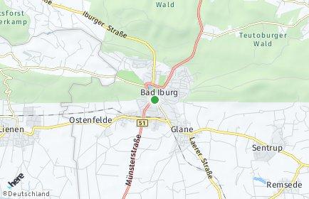 Stadtplan Bad Iburg