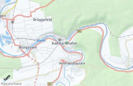 Stadtplan Bad Karlshafen