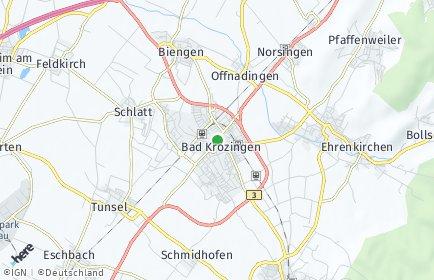 Stadtplan Bad Krozingen