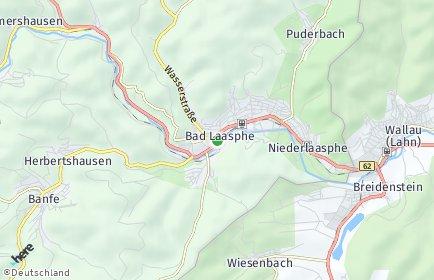 Stadtplan Bad Laasphe