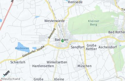 Stadtplan Bad Laer