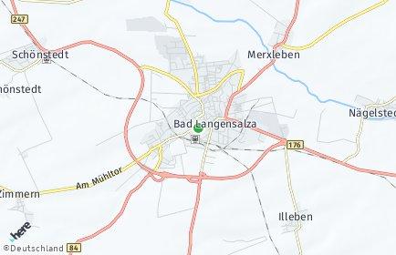 Stadtplan Bad Langensalza