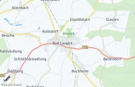 Stadtplan Bad Lausick