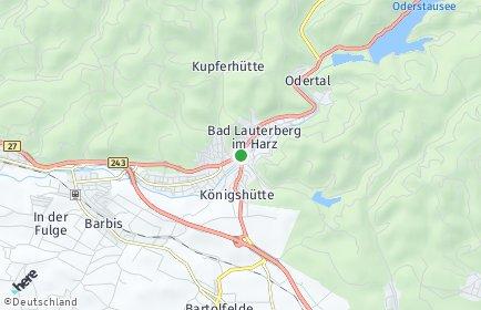 Stadtplan Bad Lauterberg im Harz