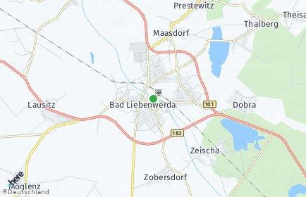 Stadtplan Bad Liebenwerda