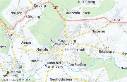 Stadtplan Bad Marienberg