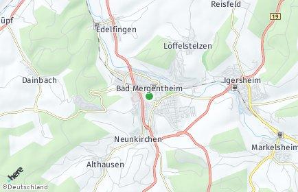 Stadtplan Bad Mergentheim