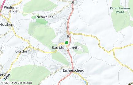 Stadtplan Bad Münstereifel OT Maulbach
