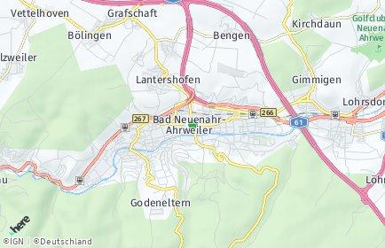 Stadtplan Bad Neuenahr-Ahrweiler