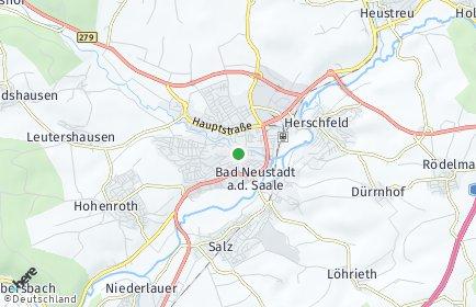 Stadtplan Bad Neustadt an der Saale
