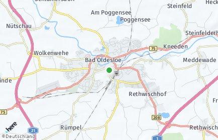 Stadtplan Bad Oldesloe