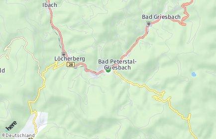 Stadtplan Bad Peterstal-Griesbach