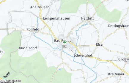 Stadtplan Bad Rodach