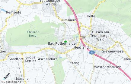 Stadtplan Bad Rothenfelde