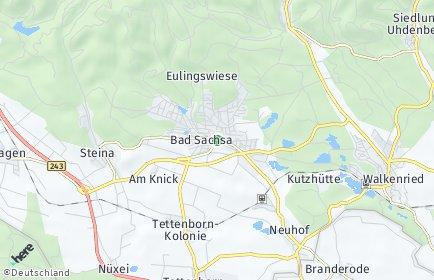 Stadtplan Bad Sachsa