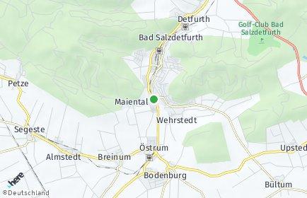 Stadtplan Bad Salzdetfurth
