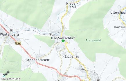 Stadtplan Bad Salzschlirf