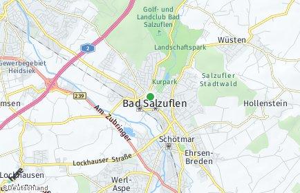 Stadtplan Bad Salzuflen