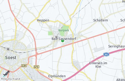 Stadtplan Bad Sassendorf