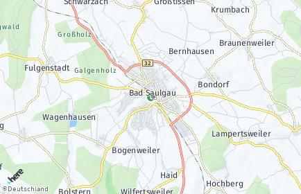 Stadtplan Bad Saulgau