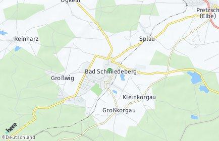 Stadtplan Bad Schmiedeberg