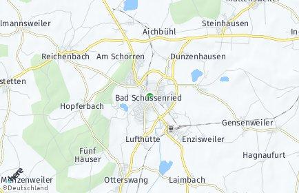 Stadtplan Bad Schussenried