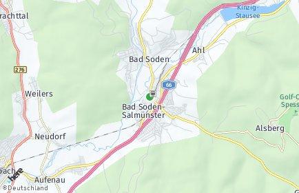 Stadtplan Bad Soden-Salmünster