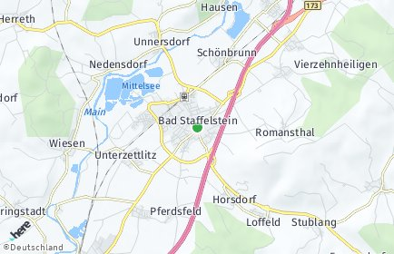 Stadtplan Bad Staffelstein