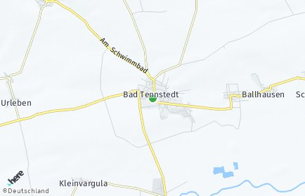 Stadtplan Bad Tennstedt