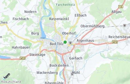 Stadtplan Bad Tölz