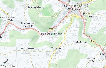 Stadtplan Bad Überkingen