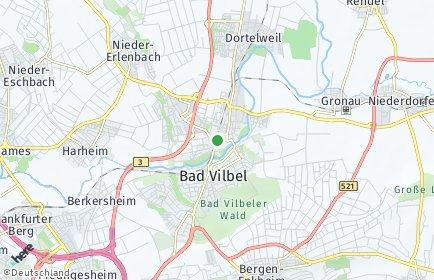 Stadtplan Bad Vilbel