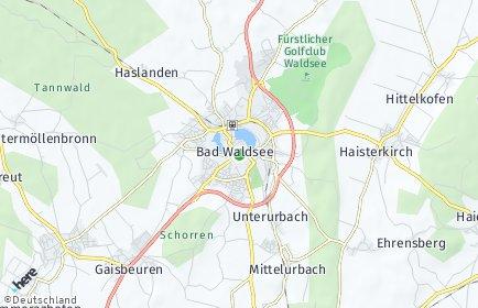 Stadtplan Bad Waldsee