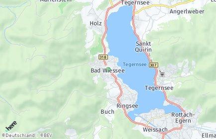 Stadtplan Bad Wiessee