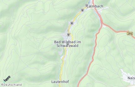 Stadtplan Bad Wildbad