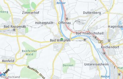 Stadtplan Bad Wimpfen