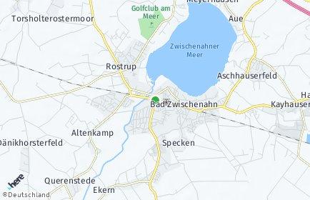 Stadtplan Bad Zwischenahn