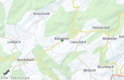 Stadtplan Bärweiler