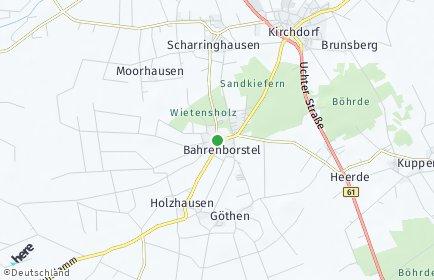 Stadtplan Bahrenborstel